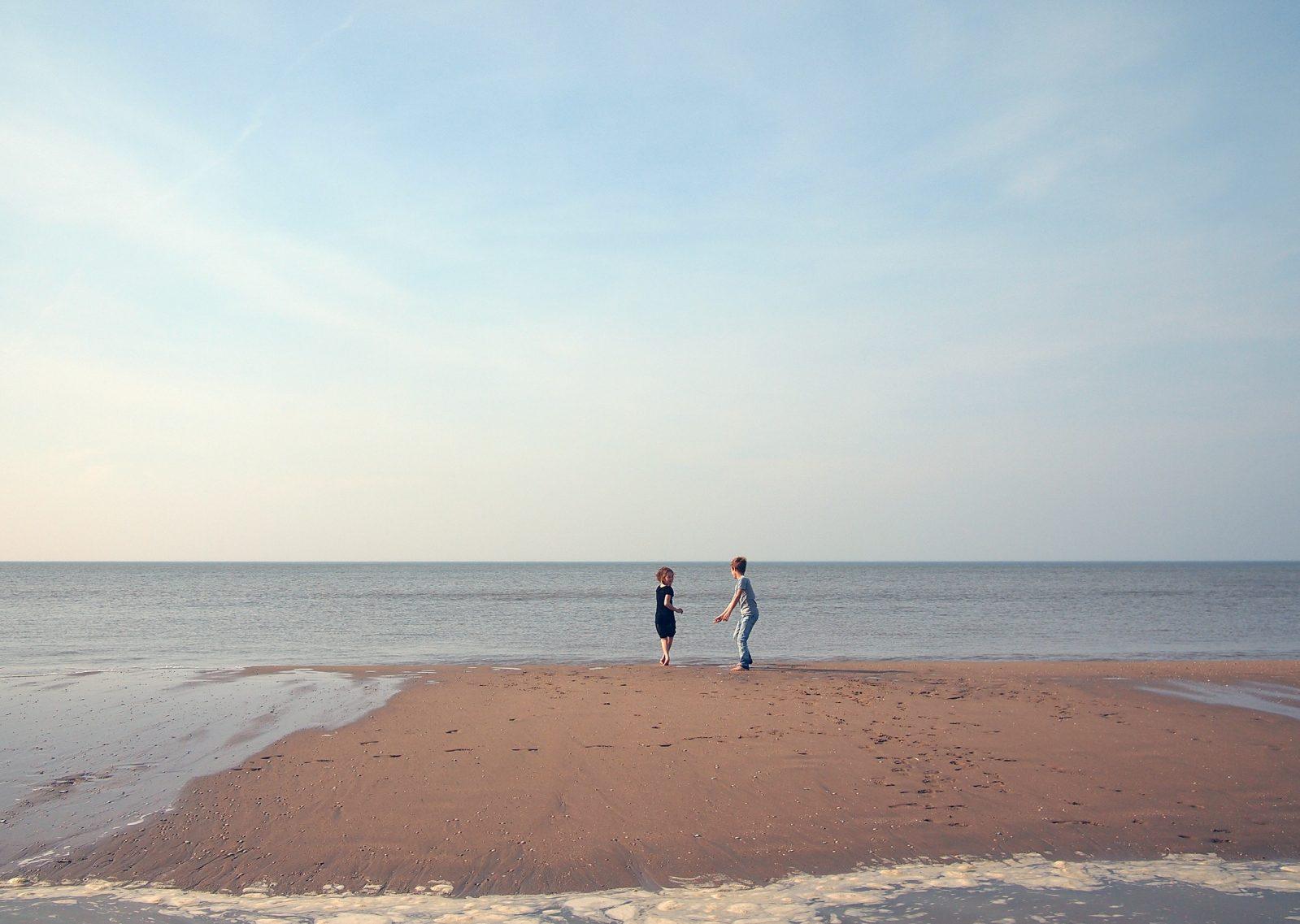 Mi farò trovare seduto sulla spiaggia